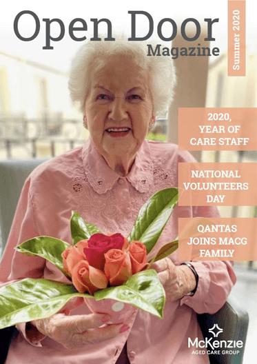 Front cover Open Door magazine Summer 2020