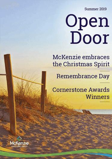 Front cover Open Door magazine Summer 2019