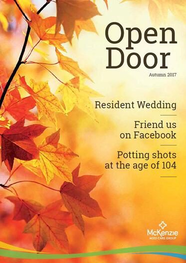 Front cover Open Door magazine Autumn 2019