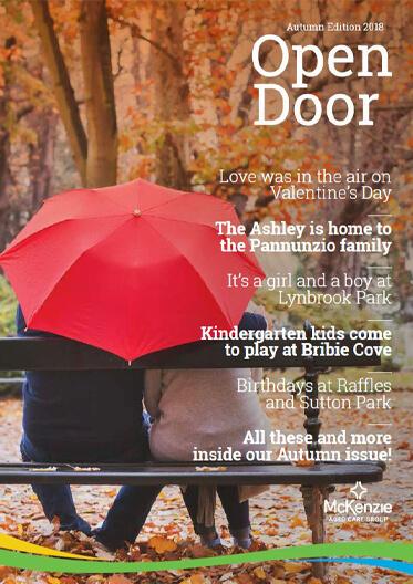 Front cover Open Door magazine Autumn 2018