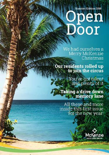 Front cover Open Door magazine Summer 2018
